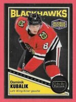 2019-20 Dominik Kubalik O-Pee-Chee OPC Platinum Retro Rookie Chicago Blackhawks