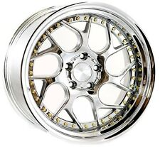 18x9.5 +35 Aodhan DS01 5x100 Vacuum Rims Fits Dodge Neon Srt4 Forester Outback