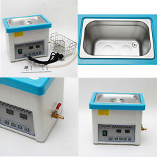Dental lab Handpiece Digital Ultrasonic Cleaner Cleaning Ultrasound Unit SALE AA
