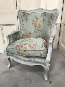 ReUpholstered Vintage French Armchair