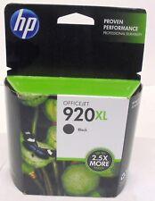 HP INK CARTRIDGE 920XL, BLACK