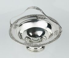 """Vintage Sterling Silver Basket by Mueck-Cary Co. in """"Royal Rose"""""""