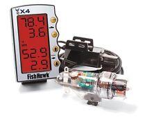 Pez halcón X4 velocidad y sensor de temperatura