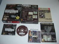 GANGSTERS 1 - Organised Crime Pc Cd Rom Original BIG BOX FAST POST