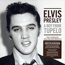 PRESLEY ELVIS A BOY FROM TUPELO COFANETTO 3 CD + LIBRO 120 PAGINE NUOVO