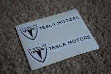Tesla Sport Racing Rally Motorsport Race Car Decal Stickers Badge Logo 100mm