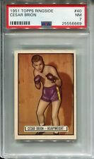 1951 Topps Ringside #40 Cesar Brion PSA 7 NM