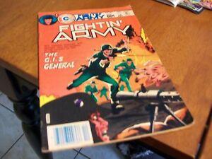 FIGHTIN ARMY CHARLTON COMIC BOOK DECEMBER 1983