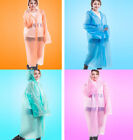 NEW Disposable Candy Color Raincoat Rain Wear Suit Waterproof Emergency Poncho