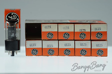 10 Vintage General Electric 12AY3A / 12BS3A Premium Audio Tube Valve in Box - Ba
