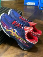 ASICS Gel Court FF LE American Flag USA Blue Red White Men's Shoes Sz 9