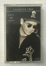 """Elton John """"To Be Continued.. Tape 2: 1972-75"""" Tape Cassette - Never Been Played"""
