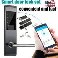 Smart Digital Electronic Door Lock APP or password  Open Keyless Keypad NEW