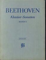 Beethoven ~ Klavier Sonaten Band 1 Urtext - gebunden