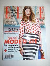 Magazine mode fashion ELLE French #3565 25 avril 2014 spécial mode d'été