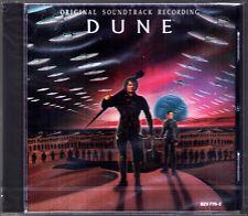 DUNE Toto Brian Eno Daniel Lanois Roger Eno OST Soundtrack CD David Lynch NEU
