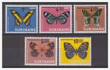 Surinam / Suriname 1977 Vlinder butterflies schmetterling papillon overprint MNH