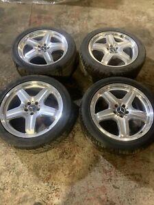 "Genuine OEM Mercedes ML AMG 20"" 5x112 Alloy Wheels +Tyres*READ BELOW*A1644012002"