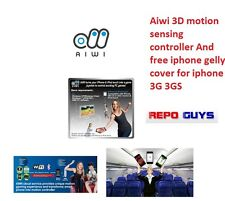 Aiwi 3D motion sensing controller And free iphone gelly cover for iphone 3G 3GS
