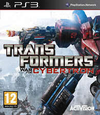 Transformers War for Cybertron ~ PS3 (in Great Condition)