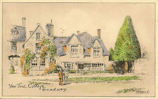 BROADWAY (Worcestershire) : Yew Tree Cottage-R.J.DYMOND-HILL'S