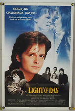 LIGHT OF DAY FF ORIG 1SH MOVIE POSTER MICHAEL J. FOX JOAN JETT (1987)