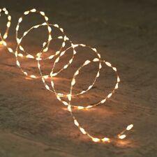 330 LED Lichterkette mit vielen Lichtern TIMER 5,5m Lichtabstand 1,5cm Trafo