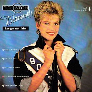 C.C.CATCH - CD - DIAMONDS - HER GRETEST HITS