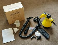 Comforday Handheld Pressurized Steam Cleaner Steamer with 9 accessories
