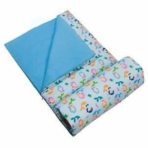 Wildkin Kids Sleeping Bags for Boys & Girls Measures 57 x 30 x 1.5 Inches Cot...