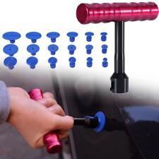 Car T-Bar Hammer Puller Lifter Paintless Dent Pit Repair Tool + 18pcs Tabs F2