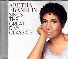 CD - ARETHA FRANKLIN - The great diva classics