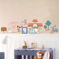 Disney Mickey Minnie Mouse Trunk Wall Stickers Nursery Decal Kid Baby Room Decor