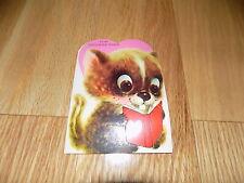 Vintage Valentines For Grandmother Beaver Animal Mouse