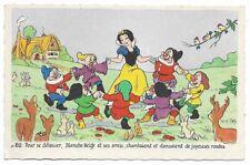 Carte Postale - WALT DISNEY - Edition Superluxe Paris  Blanche Neige  N°20
