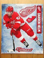 "FATHEAD Darren Helm 9"" Detroit Red Wings Player Poster Sticker 2014 SGA NEW"