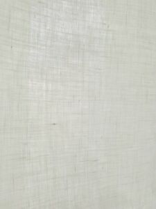 Leinenstoff weiß, blickdicht, 100 % Leinen, 95° Waschbar