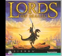 LORDS OF MAGIC WINDOWS BASED STRATEGY FANTASY GAME. SHIPS FAST AND SHIPS FREE.