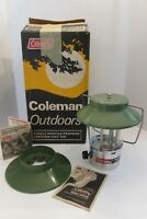 Vintage 1972 Coleman Single Mantle Propane Lantern 5107-708  with Box and Manual