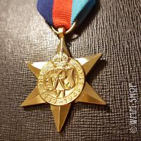THE 1939-1945 STAR MEDAL WW2 HIGHEST BRITISH MILITARY AWARD ARMY NAVY RAF COPY