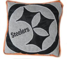 NFL Pittsburgh Steelers Reverse Apllique Pillow FREE SHIPPING
