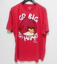 ANGRY BIRDS T-Shirt - Men's Size XXL 2XL - Go Big or Go Home Officially Licensed