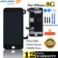 Reemplazo De Lcd Para Iphone 8 Pantalla Táctil Pantalla de Digitalizador negro cámara marco