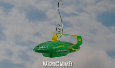 Thunderbirds #2 Green Space Ship Custom Christmas Ornament are go! Jeff Tracey