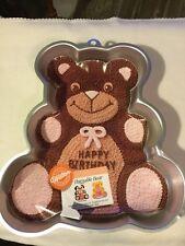 "Wilton Huggable Bear Cake Pan #2105-4943 - New w/Insert 13-1/2"" Head to Foot"