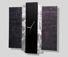 Abstract Contemporary Modern Metal Art Wall Clock - Time Eternal by Jon Allen