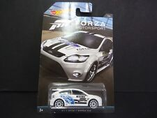 Hot Wheels Ford Focus RS 2009 White Forza DWF30-999A 1/64
