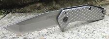 """Kershaw Messer """"Cathode"""" Mini-Taschenmesser 4Cr13MoV Stahl Stahlgriff KS1324"""