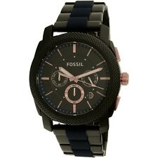 Fossil Men's FS5164 Black Stainless-Steel Quartz Dress Watch