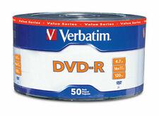 Verbatim 97493 4.7GB 16X DVD-R Spindle - Pack of 50